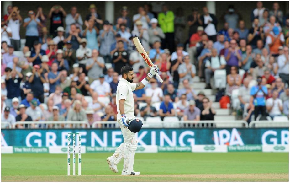 विराट कोहली इंग्लैंड के खिलाफ होम और अवे सीरीज में 500 से अधिक रन बनाने वाले भारत के पहले कप्तान हैं. जबकि वह एक सीरीज में इंग्लैंड में 500 से अधिक रन बनाने वाले सिर्फ तीसरे भारतीय खिलाड़ी हैं.