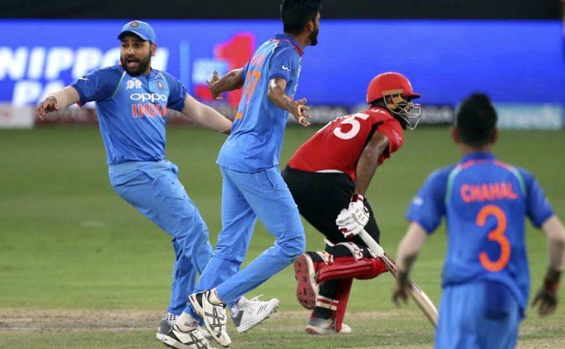 भारत को संघर्ष के बाद मिली हॉन्ग कॉन्ग पर जीत, 26 रनों से हराया