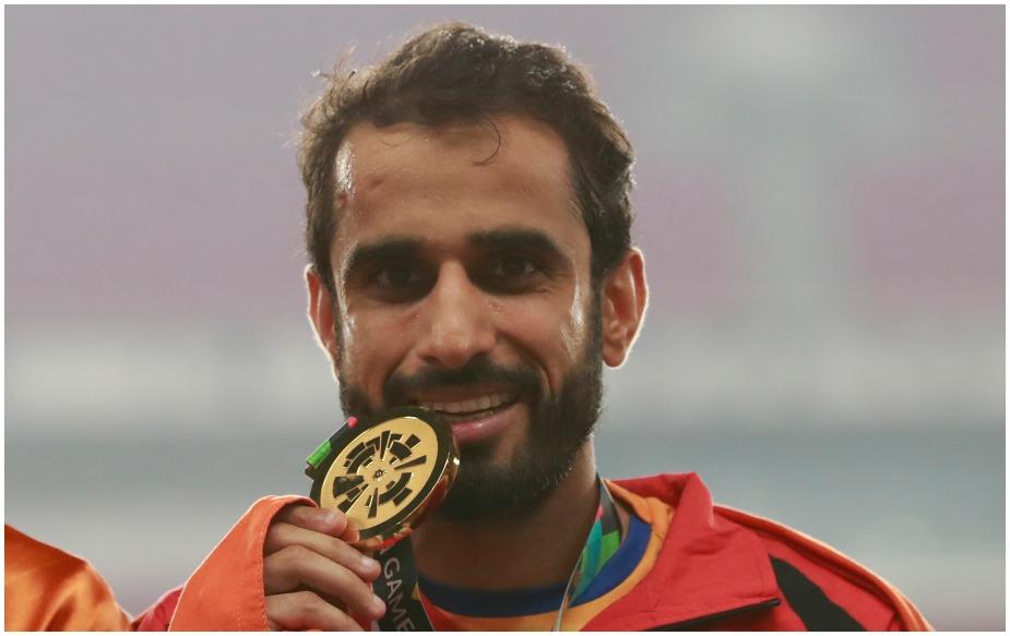 भारत के मंजीत सिंह ने 18वें एशियन गेम्स में एथलेटिक्स में पुरुषों की 800 मीटर दौड़ में स्वर्ण पदक जीता. मंजीत ने 1 मिनट 46.15 सेकंड के साथ ऐसा किया.