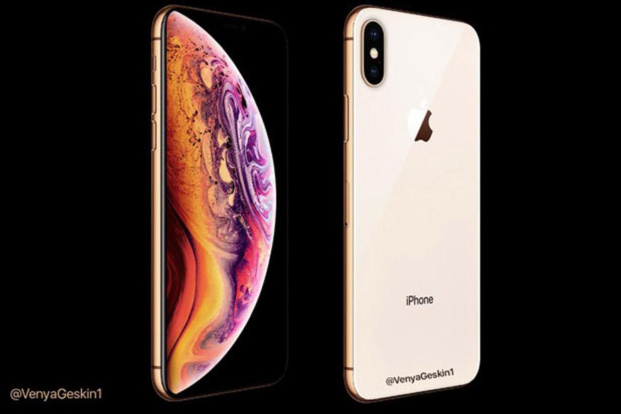 गोल्ड कलर में दिखा Apple का iPhone XS