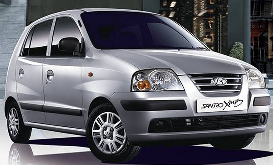 हुंडई ने 2003 में Santro Xing उतारी. 2015 में सैंट्रो ब्रांड के साथ इस कार को आखिरकार बंद कर दिया गया. (Image source: Facebook/Hyundai)