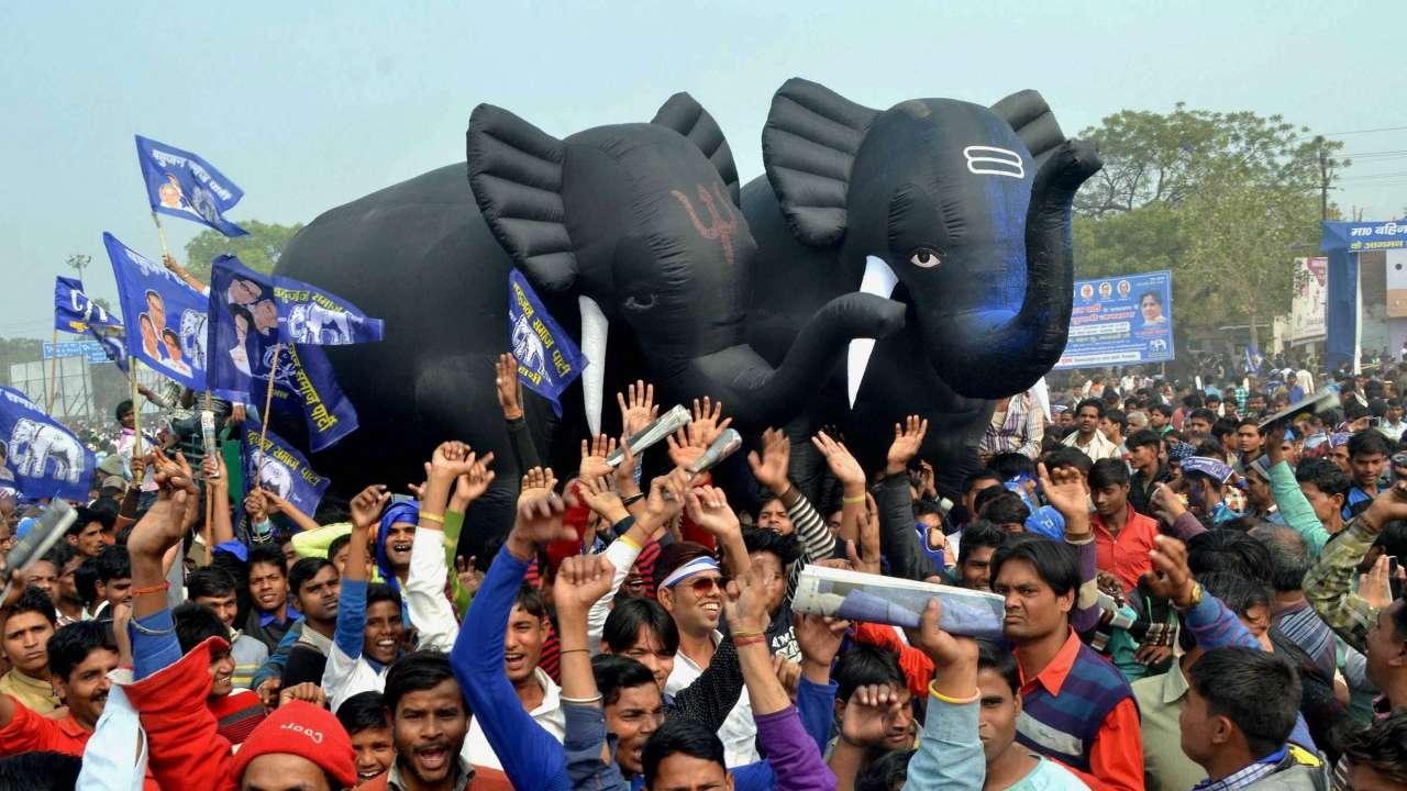 बीएसपी की रैली (फ़ाइल फोटो)