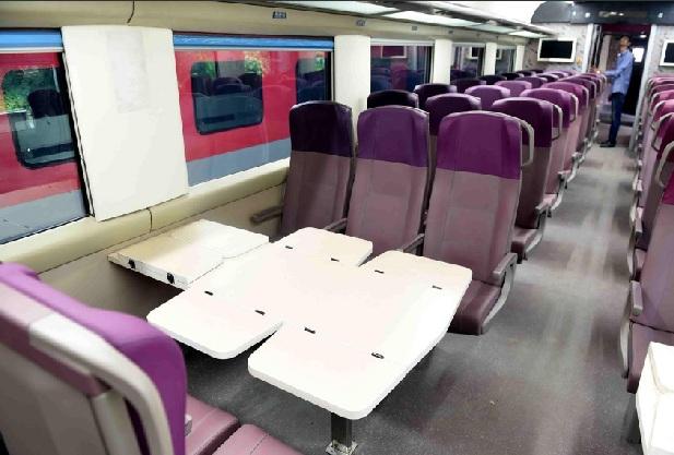 मिली जानकारी के मुताबिक इस ट्रेन को शताब्दी-राजधानी जैसी ट्रेनों के रूट के लिए तैयार किया गया है. फिलहाल इसके दिल्ली-भोपाल, चेन्नई-बेंगलुरु और मुंबई-अहमदबाद रूट पर चलाए जाने की ख़बरें हैं.