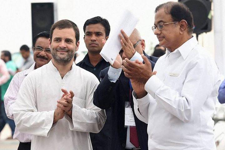 पीएम पद के लिए कांग्रेस का चेहरा नहीं होंगे राहुल गांधी: पी चिदंबरम