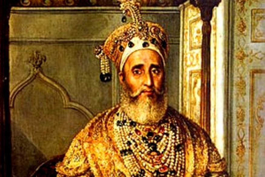 बहादुर शाह ज़फ़र पिता अकबर शाह II की मौत के बाद गद्दी पर बैठे. अकबर शाह II जफर को मुगल शासन नहीं सौंपना चाहते थे. कहा जाता है इसका कारण बहादुर शाह ज़फ़र का स्वभाव से कोमल होना था.