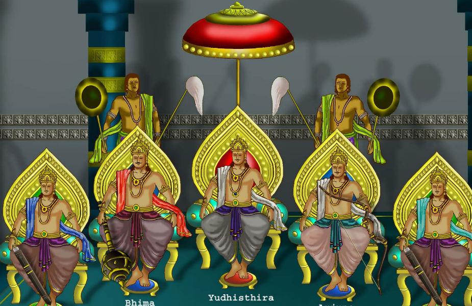 पांडवों ने कौरवों को हारने के लिए मां दुर्गा का व्रत किया था, ऐसा महाभारत में लिखा है.