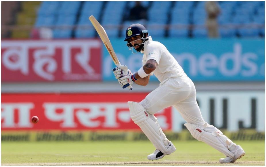 वेस्टइंडीज के खिलाफ राजकोट टेस्ट में 139 रन की पारी के दौरान विराट कोहली ने इस साल टेस्ट क्रिकेट में 1000 रन पूरे किए. वह टेस्ट क्रिकेट में लगातार तीन कैलेंडर वर्ष में 1000 प्लस रन बनाने वाले एकमात्र भारतीय और एशियाई बल्लेबाज़ हैं. उन्होंने ऐसा 2016, 2017 और 2018 में किया है. विराट ने इस साल 1018 रन बनाए लिए हैं. जबकि उन्होंने साल 2016 में 1215 और 2017 में 1059 रन अपने नाम किए थे. हालांकि लगातार पांच कैलेंडर वर्ष में 1000 प्लस रन बनाने का रिकॉर्ड ऑस्ट्रेलिया के मैथ्यू हेडेन के नाम है, जिन्होंने 2001-05 के दौरान ऐसा किया. जबकि ऑस्ट्रेलिया के ही स्टीव स्मिथ ने ऐसा चार बार किया है. हालांकि विराट के अलावा केविन पीटरसन, मार्क ट्रेस्कोथिक और ब्रायन लारा ऐसा करने वाले अन्य खिलाड़ी हैं.