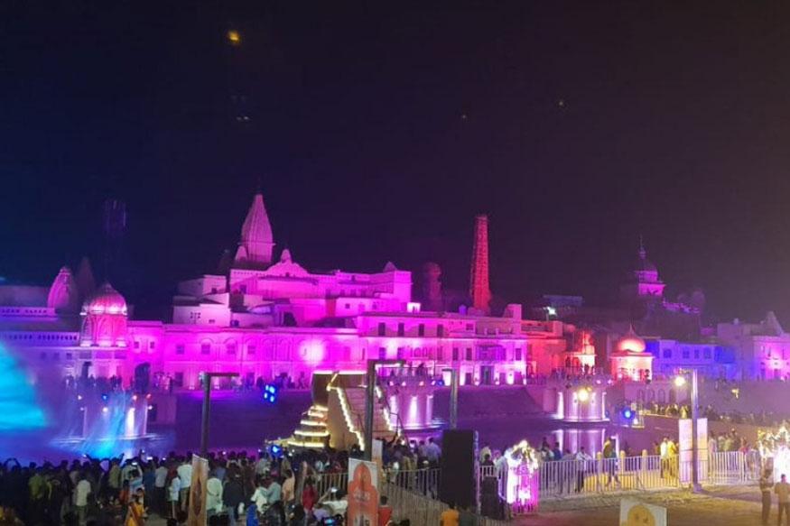 भव्य दीपोत्सव के लिए सज कर तैयार है रामनगरी अयोध्या
