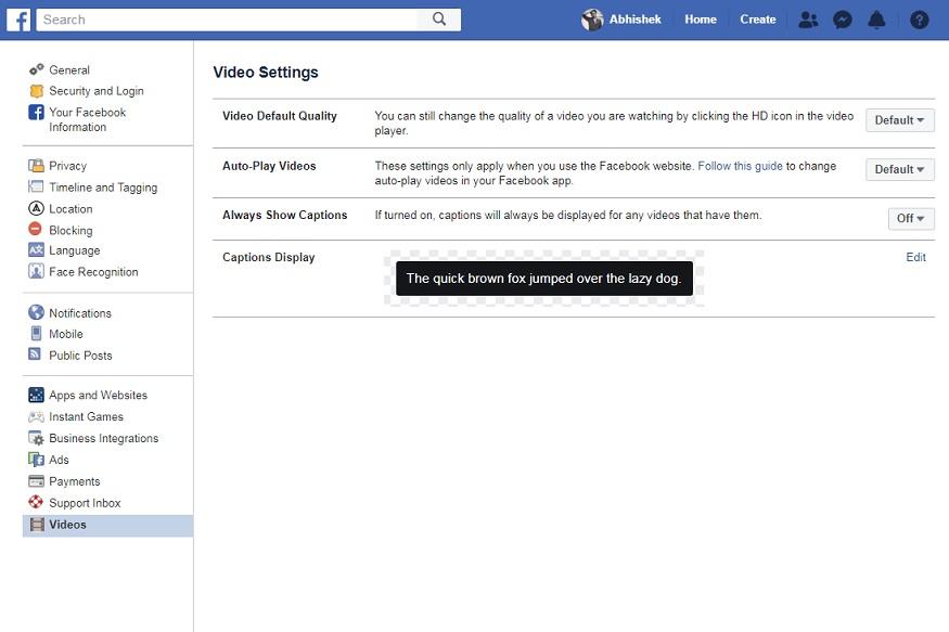 डेस्कटॉप पर ऐसे करें बंद-डेस्कटॉप पर ऑटो प्ले वीडियो को ऑफ करने के लिए सबसे पहले फेसबुक लॉगिन करें और फिर सेटिंग्स में जाएं. इसके बाद बाईं ओर दिए मेन्यू में Videos पर क्लिक करें. यहां आपको Auto-Play Videos का ऑप्शन मिलेगा. इसमें आपको डिफॉल्ट की जगह NO सिलेक्ट करना होगा, इसके बाद आपके फेसबुक पर ऑटो वीडियो प्ले होना बंद हो जाएगा.