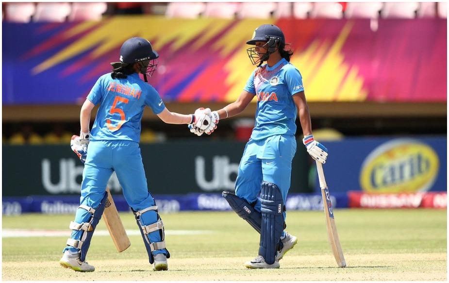 जेमिमा रॉड्रिगेज और कौर के बीच चौथे विकेट के लिए 134 रन की साझेदारी हुई, जो कि वीमेंस वर्ल्ड टी20 की रिकॉर्ड साझेदारी है.