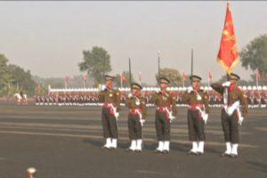 पासिंग आउट पैरेड में मुख्य अतिथि के रूप में भूटान आर्मी चीफ लेफ्टिनेंट जनरल बातू त्शेरिंग ने पैरेड की सलामी ली.