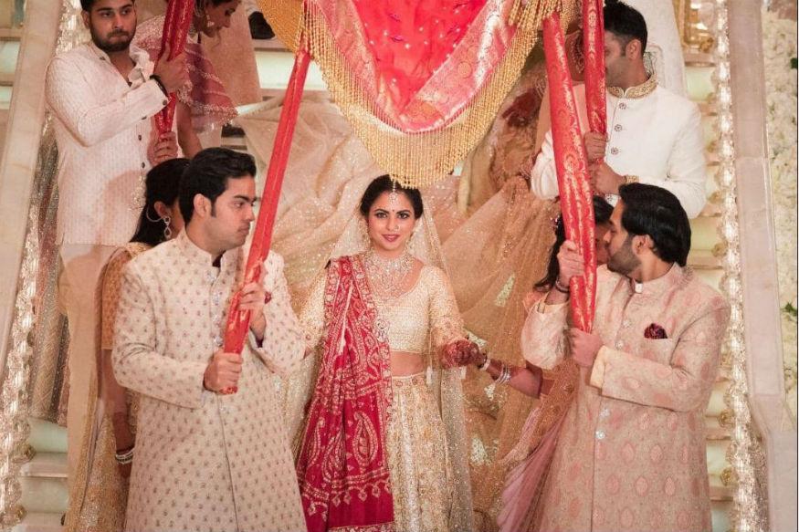 Isha Ambani Anand Piramal Wedding: ईशा ने शादी में पहनी इस दुकान की चूड़ियां,