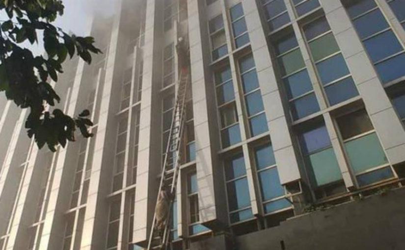मुंबई के अस्पताल में भीषण आग, 5 लोगों की मौत, 100 से ज्यादा झुलसे
