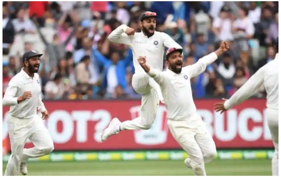विदेशी सरजमीं पर विराट कोहली की कप्तानी में ये चौथी जीत है. कोहली की कप्तानी में अब तक विदेशी सरजमीं पर जीत- 2015 में बनाम श्रीलंका 2-1, 2016 में बनाम वेस्टइंडीज 2-0, 2017 में बनाम श्रीलंका 3-0 और 2018-19 में बनाम ऑस्ट्रेलिया 2-1