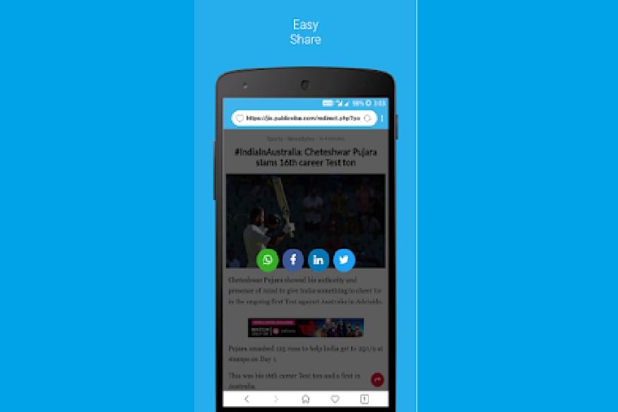 આ બ્રાઉઝરમાં વૉઇસ ઇનપુટ સપોર્ટ પણ મળશે. તેનો અર્થ છે કે તમે વૉઇસ આદેશો આપીને કંઈપણ શોધી શકો છો. આ ઉપરાંત, તમે તે પ્રમાણે ટેક્સ્ટની સાઇઝને પસંદ કરી શકો છો. આ બ્રાઉઝર એન્ડ્રોઇડ યૂઝર્સ માટે ફક્ત રોલઆઉટ છે અને iOS માં આગમન વિશે કોઈ માહિતી પ્રદાન કરવામાં આવી નથી.