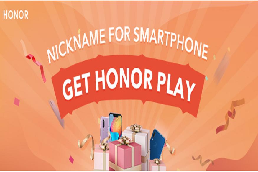 """ऐसे लें कॉन्टेस्ट में भाग- दरअसल, चीन की स्मार्टफोन निर्माता कंपनी ऑनर ने 17 जनवरी तक निकनेम फॉर स्मार्टफोन (nickname for smartphone) कॉन्टेस्ट की शुरुआत की है. इसके तहत अगर आप अपने ऑनर स्मार्टफोन का कोई उपनाम (nickname) देकर इस लिंक पर<span style=""""color: #ff0000;"""">https://club.hihonor.com/in/topic/157672/detail.htm</span>पर कमेन्ट करते हैं और अगर कंपनी को आपके स्मार्टफोन का निकनेम पसंद आया तो आप पहला गिफ्ट HONOR Play, दूसरा गिफ्ट HONOR Band A2 और तीसरा HONOR Bluetooth Speaker फ्री में पा सकते हैं. बता दें कि कंपनी विनर का नाम 18 जनवरी को अनाउंस करेगी."""