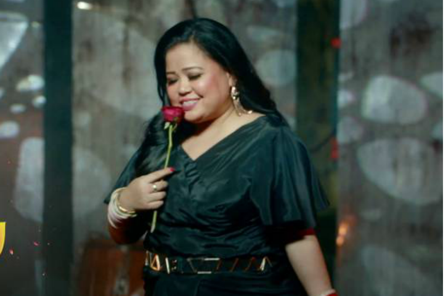 Khatron ke Khiladi के सेट पर भारती ने की रोहित शेट्टी की नकल, यूं