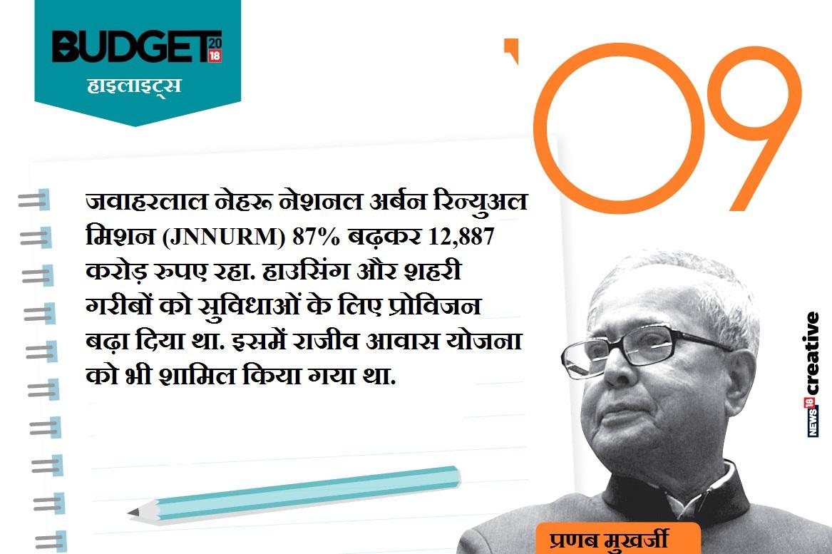 बजट-2009 (प्रणब मुखर्जी, वित्त मंत्री)