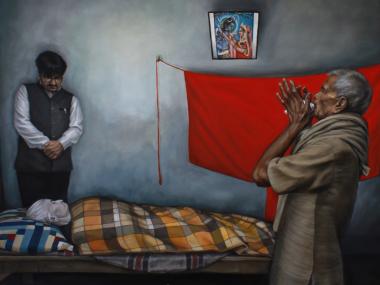 कमरे का रोज का शुल्क 75 रुपए होता है. इसमें सोने के लिए एक तखत, एक चादर और तकिया होता है. साथ में पीने के लिए मौसम के अनुसार घड़ा या कलश रखा रहता है. गेस्ट हाउस में आने वालों को कम से कम सामान के साथ ही अंदर आने की इजाजत मिलती है. (तस्वीर- फर्स्टपोस्ट)