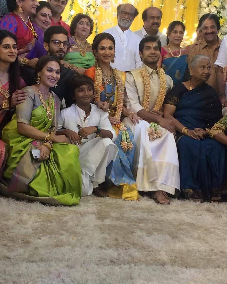 बता दें कि ये सौंदर्या की दूसरी शादी है. पहले सौंदर्या की शादी उद्योगपति अश्विन रामकुमार से हुई थी, जिनकी सात साल की शादी 2017 में टूट गई. सौंदर्या का एक बेटा है जिसका नाम वेद कृष्ण है.