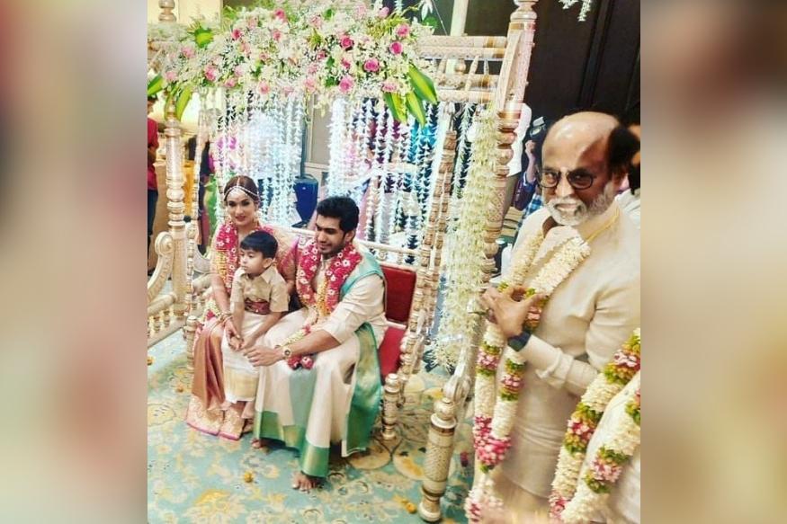 सौंदर्या की मेहंदी की रस्म की एक तस्वीर भी काफी पसंद की गई थी. तस्वीर में उनके साथ उनका बेटा वेद कृष्ण नजर आ रहा था. शादी की रस्मों में भी वह मां के साथ दिखा.
