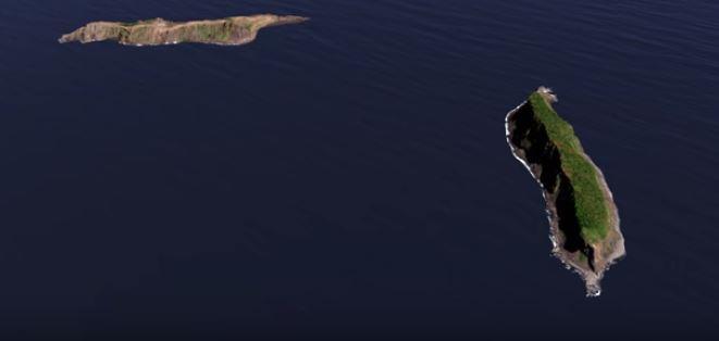 ये रहस्यमय द्वीप दिसंबर 2014 से जनवरी 2015 के बीच अस्तित्व में आया. इसके बनने की वजह टोंगा के पास हुआ ज्वालामुखी विस्फोट का बताया जाता है. ये ज्वालामुखी विस्फोट दो पुराने आइलैंड्स, Hunga Tonga और Hunga Ha'apai के बीच हुआ था.(image:NASA you tube screenshot)