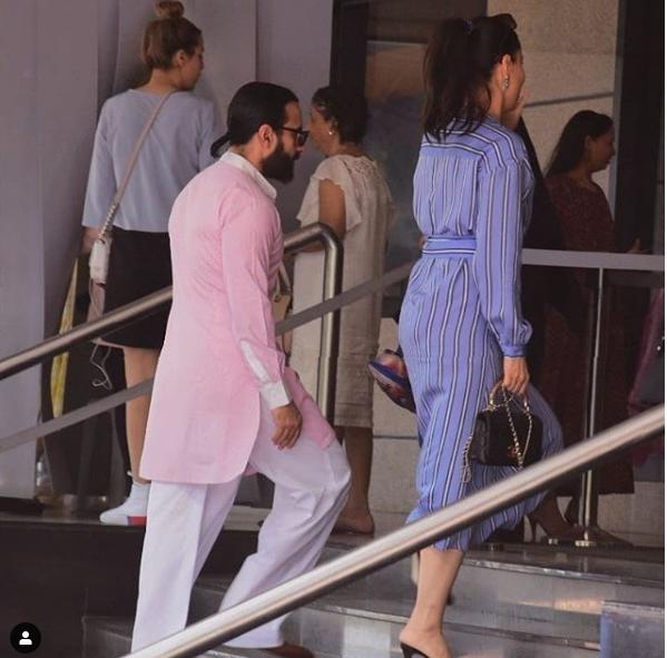 बहरहाल, जो भी हो करीना ने एक बार फिर साबित कर दिया है कि वे बॉलीवुड की स्टाइल डीवा क्यों कही जाती हैं. ड्रेस चाहे सस्ती हो या महंगी वे हर लुक हर ड्रेस में स्टाइलिश नजर आ सकती हैं. वर्क फ्रंट की बात करें तो करीना फिल्म 'गुडन्यूज' की शूटिंग में बिजी हैं. फिल्म में वो अक्षय कुमार के उनके अपोजिट रोल में हैं.