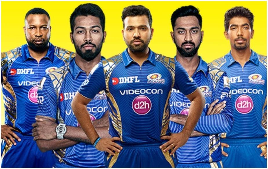 इस टीम में कुल खिलाड़ी 24 हैं, जिसमें 8 विदेशी और 16 भारतीय हैं. रोहित शर्मा (कप्तान), क्विंटन डी कॉक, इविन लुईस, अनमोलप्रीत सिंह, रोहित शर्मा, सूर्यकुमार यादव, सिद्देश लाड, ईशान किशन, आदित्य तारे, हार्दिक पंड्या, केरॉन पोलार्ड, क्रुणाल पंड्या, बेन कटिंग, युवराज सिंह, पंकज जायसवाल, मयंक मार्कंडेय, राहुल चाहर, अनुकूल रॉय, जयंत यादव, जसप्रीत बुमराह, एडम मिलने, मिचेल मैक्लेंघन, जेसन बेहरेनडोर्फ, रासिख सलाम, लसिथ मलिंगा और बरिंदर सरन.