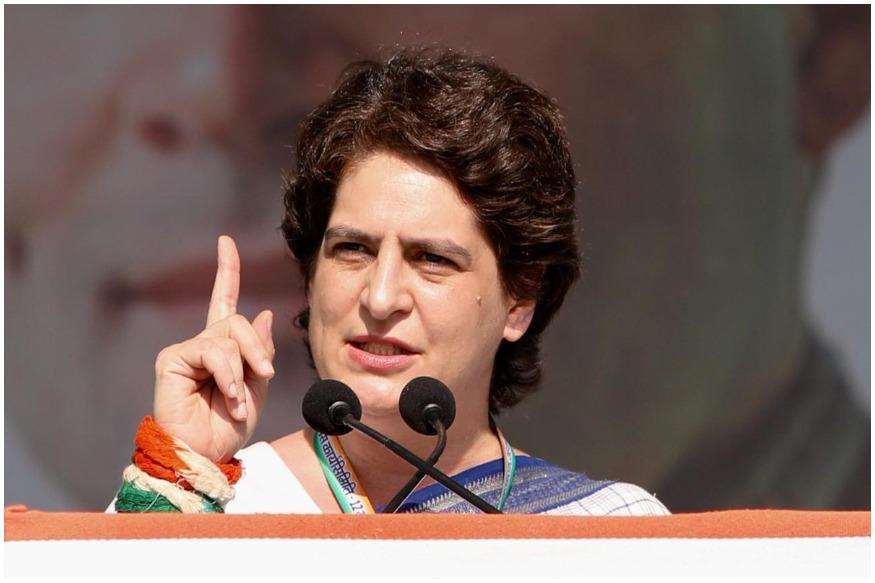 loksabha election, pm modi, priyanka gandhi, addresses rally, gandhi nagar, gujarat, लोकसभा चुनाव, प्रियंका गांधी, प्रियंका का मोदी पर हमला, मोदी सरकार, गुजरात, साबरमती