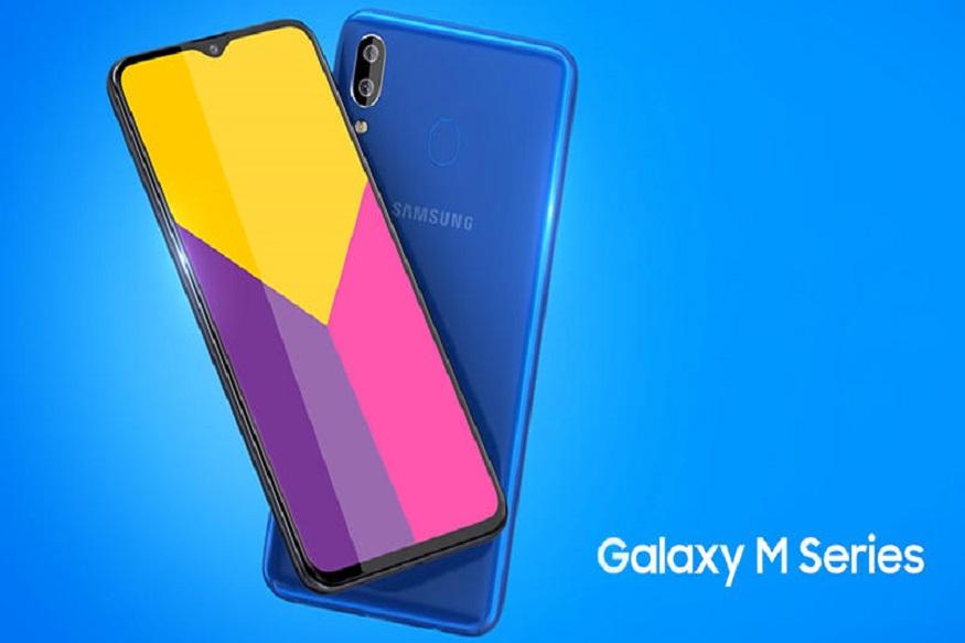 Galaxy M20- Galaxy M20માં 6.3 ઇંચની પૂર્ણ એચડી + ઇન્ફિનિટી વી ડિસ્પ્લે અને ઓક્ટાકોર એક્સિસ 7904 પ્રોસેસર હશે. કેમેરા વિશે વાત કરીએ તો તેમાં ડ્યુઅલ રીઅર કેમેરા છે, જેમાં પહેલો 13 મેગાપિક્સલનો અને બીજો પાંચ મેગાપિક્સલનો કેમરો છે. 3 જીબી + 32 જીબી સ્ટોરેજ સાથે ફોન 10, 990 રુપિયા અને 4 જીબી +64 જીબી વેરિયન્ટની કિંમત 12,990 રૂપિયા છે.