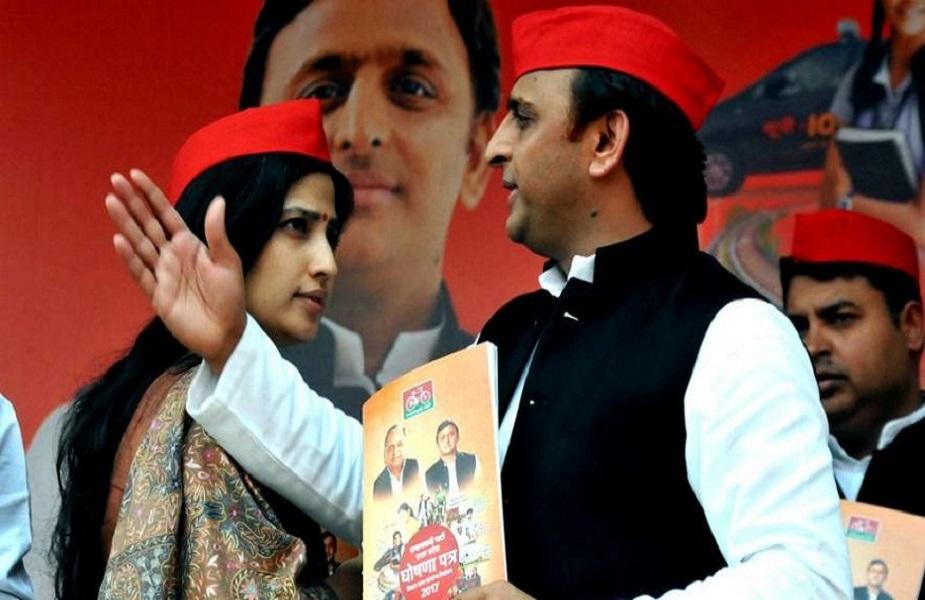 डिंपल यादव: मुलायम सिंह के सीट छोड़ने वाले फॉर्मूले को बेटे अखिलेश यादव ने भी आजमाया. 2009 के लोकसभा चुनाव में कन्नौज और फिरोजाबाद से जीत दर्ज करने के बाद उन्होंने फिरोजाबाद की सीट अपनी पत्नी डिंपल यादव के लिए छोड़ दी. डिंपल यादव पहली बार चुनाव लड़ी और मुलायम के परिवार के लिए चली आ रही रीति टूट गई. डिंपल को कांग्रेस उम्मीदवार राजबब्बर ने बड़े अंतर से फिरोजाबाद में हरा दिया. पहली बार इस खेल में मात खाने के बावजूद अखिलेश का भरोसा इस फार्मूले से नहीं टूटा. 2012 में मुख्यमंत्री बनने के बाद अखिलेश ने अपनी कन्नौज लोकसभा सीट एक बार फिर डिंपल के लिए खाली की. इस बार किसी भी पार्टी ने डिंपल के खिलाफ अपना प्रत्याशी नहीं उतारा. लिहाजा डिंपल यादव निर्विरोध चुनाव जीत गईं.