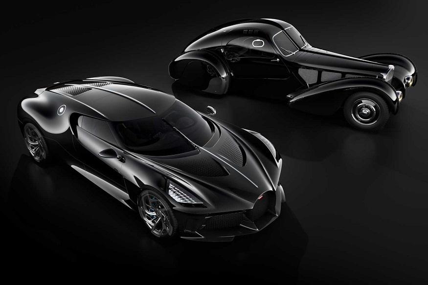આ બ્લેક કાર વિશિષ્ટ રીતેVoiture Noire નામ સાથે છે અને હવે તેla Voiture Noire સાથે ઉતારી છે, જે એક ટાઇપ 57 એસસી એટલાન્ટિક છે, જે બુગાટીની સૌથી જાણીતી રચના હતી.