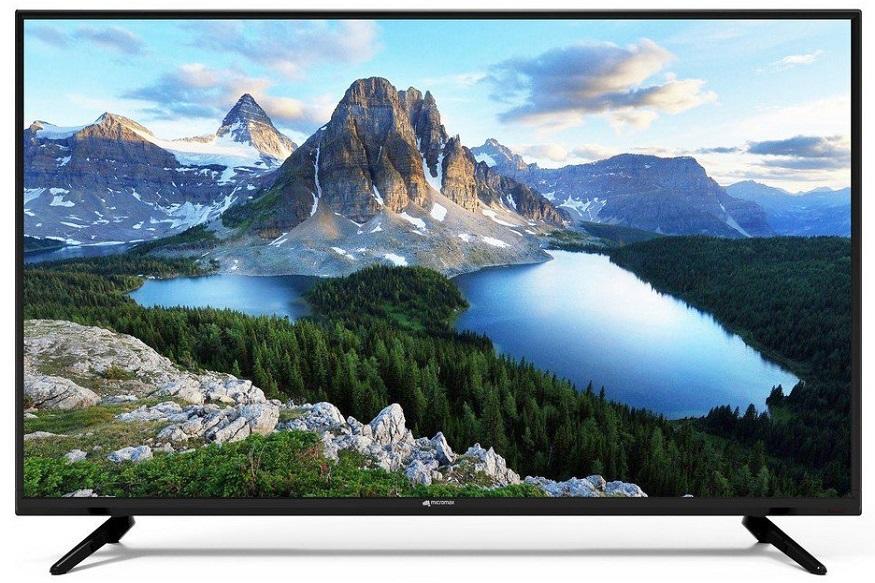 सेल के दौरान मिक्रोमैक्स का 43- इंच वाला LED TV सिर्फ 18,999 रुपये में मंगाया जा सकता है, जबकि इसकी साल कीमत 42,990 रुपये है, इस तरह आपको इस टीवी पर कुल 23,991 रुपये का डिस्काउंट मिल रहा है.
