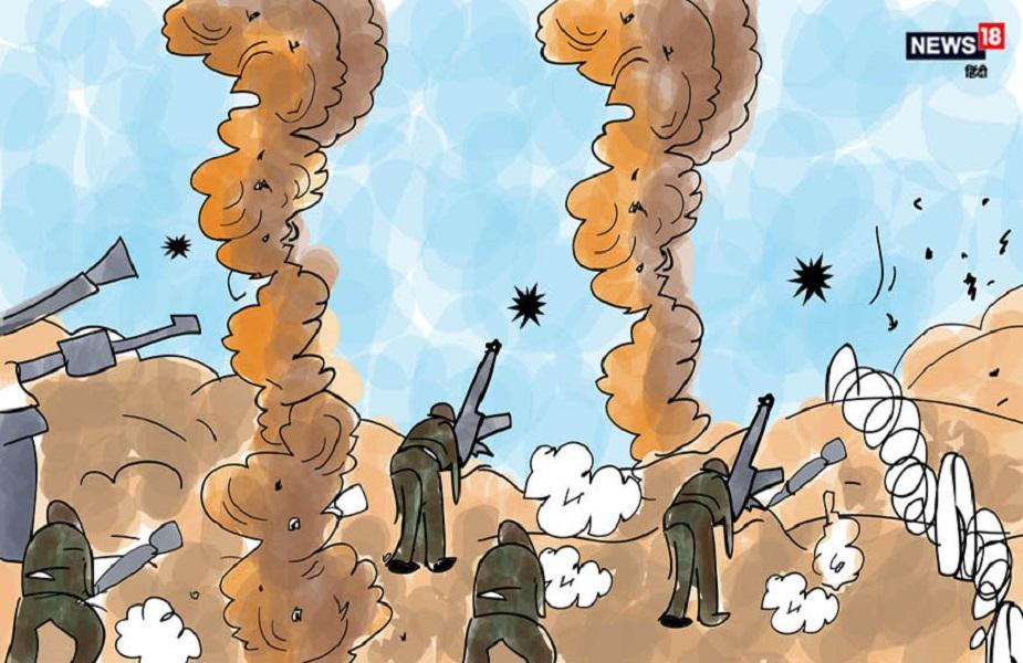 दरअसल 1971 के युद्ध के दौरान भारतीय सेना ने पाकिस्तानी सीमा में प्रवेश करते हुए करीब तीस किलोमीटर तक कब्जा कर लिया था. उस दौरान भारतीय सेना का जब असलहा खत्म होने लगा तो सेना ने पाकिस्तानी सीमा में जवानों को असलहा उपलब्ध कराने का जिम्मा दुर्गाशंकर पालीवाल को मिला था.