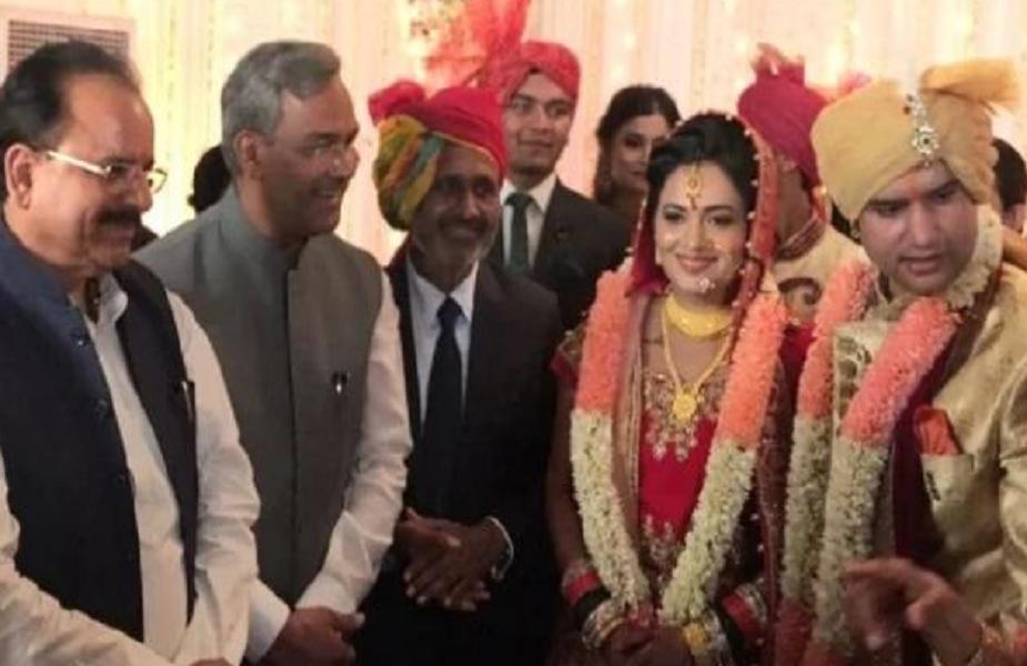 इस शादी में नारायण दत्त तिवारी स्वास्थ्य कारणों से शामिल नहीं हो पाए थे.