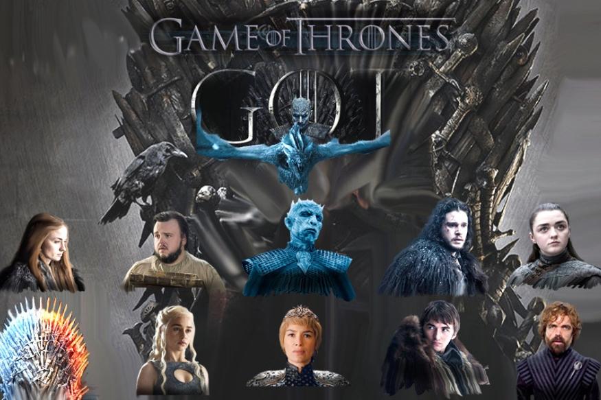 Game of Thrones का आठवां और आखिरी सीज़न शुरु हो चुका है. भारतीय समयानुसार 6.30 बजे शुरू हुए इस एपिसोड को इस वक्त दुनिया में 2 करोड़ से ज्यादा लोग देख चुके हैं. गेम ऑफ थ्रोन्स एक काल्पनिक दुनिया की कहानी है, जहां पृथ्वी के महाद्वीप, वेस्टरोस (पश्चिमी देशों का समूह) और एसोस (पूर्वी देशों का समूह) में बंटे हुए है. पूर्वी देशों में मूलत: गुलाम देश हैं और पश्चिमी देश एक राजा के ज़रिए 'किंग्स लैंडिंग' में मौजूद 'आयरन थ्रोन' (राजगद्दी) के अंदर अपनी सत्ता चलाते हैं. इस राजगद्दी को पाने के लिए अलग अलग शक्तिशाली परिवारों के बीच की पूरी लड़ाई ये धारावाहिक कहता है. राजगद्दी और सत्ता पाने की इस लड़ाई को और रोचक बनाता है जादूगर, मायावी जीव और ड्रैगन का होना. इसके अलावा वाइट वॉकर (White Walker) के नाम से जाने जाने वाले जॉम्बी भी यहां आपको नज़र आएंगे जो इस सत्ता की लड़ाई में उलझी मानवीय दुनिया को तबाह करने के लिए सुदूर बर्फीले उत्तर से चले आ रहे हैं और उनके और मानवता के बीच खड़ी है तो बस एक बर्फ की दीवार. इस कहानी में कुछ मुख्य किरदार हैं जिनके बारे में आप जान लें तो आप इस सीज़न को बिना किसी परेशानी के देख सकते हैं.