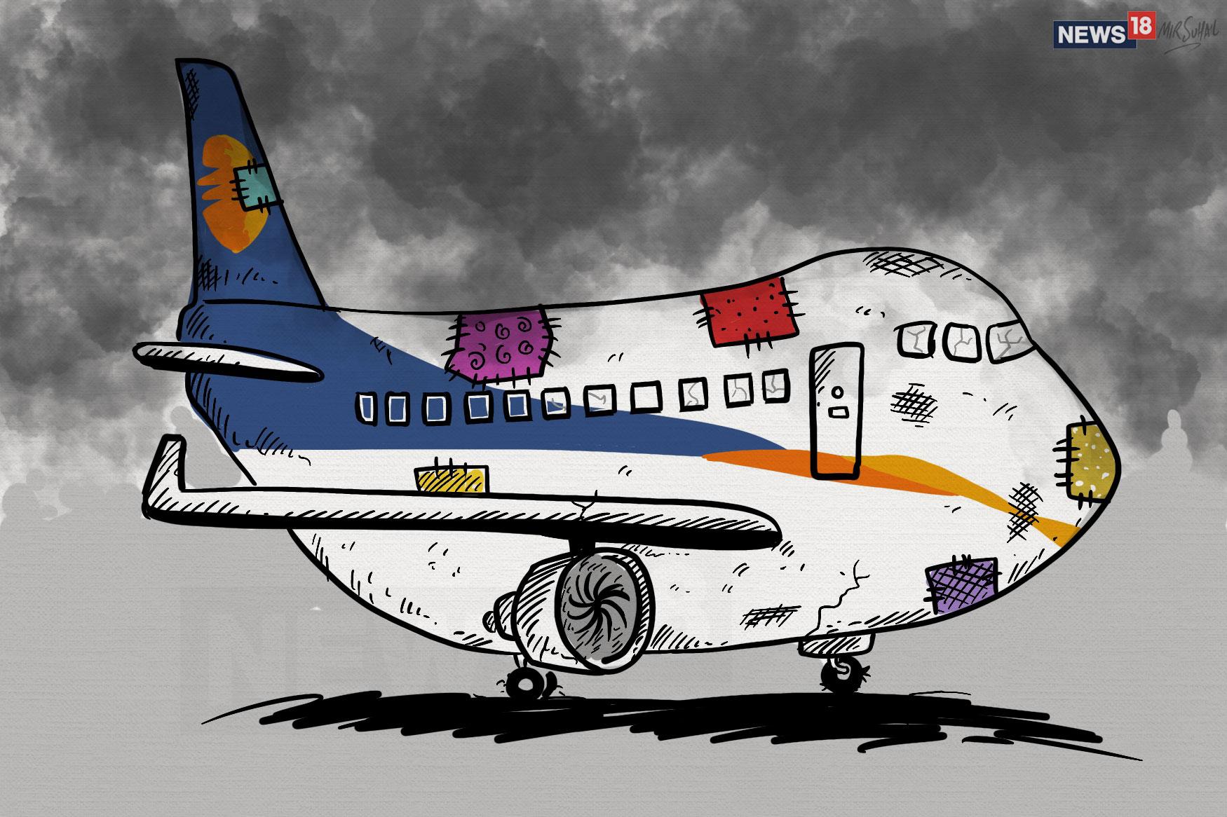 प्राइवेट एयरलाइंस जेट एयरवेज (Jet Airways) भारी नकदी संकट से जूझ रही है जिसकी वजह से जेट एयरवेज बंद होने के कगार पर पहुंच गई है. इसके स्टेकहोल्डर्स का एयरलाइन के रिवाइवल को लेकर विश्वास कम होता जा रहा है और लेंडर्स इसे और कर्ज देने से बच रहे हैं. इससे देश की इस पुरानी प्राइवेट एयरलाइन के कामकाज जारी रख पाने को लेकर अनिश्चितता बढ़ रही है.