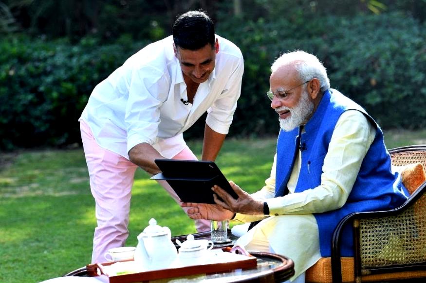 पीएम नरेंद्र मोदी के इंटरव्यू पर अक्षय कुमार को है इस