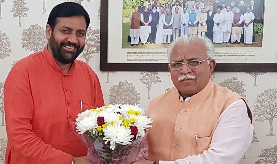 कुरुक्षेत्र सीट सीट से भाजपा ने अंबाला के नारायणगढ़ हल्के से 2014 मे पहली बार विधायक बने नायब सैनी को टिकट दिया है. उन्होंने विधानसभा चुनाव में पूर्व संसदीय सचिव व कांग्रेस प्रत्याशी रामकिशन गुर्जर को हराया था. सैनी हरियाणा सरकार में खनन एवं भूविज्ञान व श्रम एवं रोजगार राज्यमंत्री हैं.