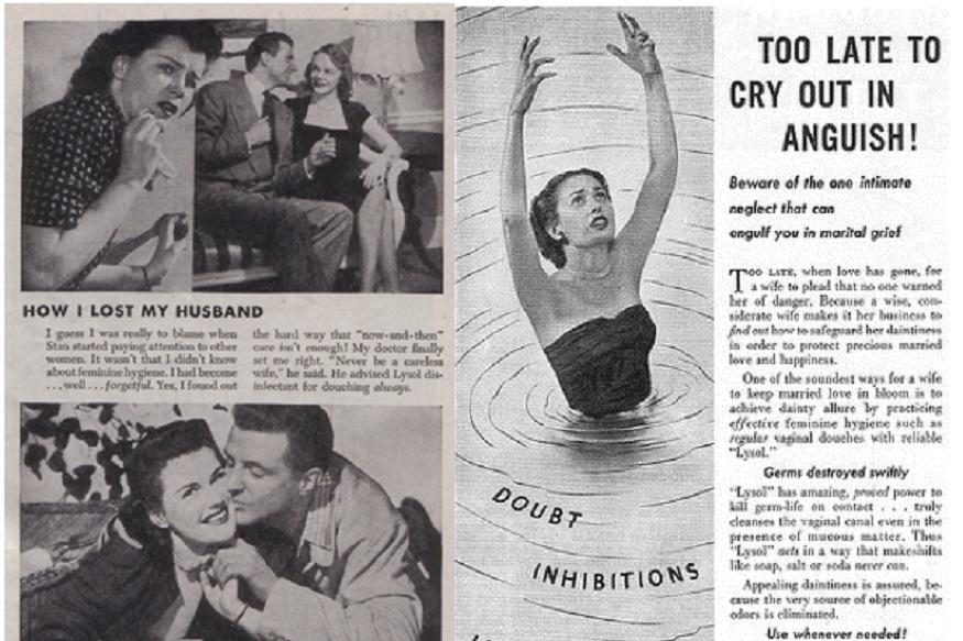 फ्लोर क्लीनर बनाने वाली कंपनी लाइज़ॉल उस वक्त विवाद में आ गई थी, जब उसने अपने एक विज्ञापन में गर्भ निरोध और शरीर के हाइजिन के लिए इसका इस्तेमाल करने को कहा. कंपनी ने अपने एड की पूरी सीरीज ही चला दी. इसमें दावा होता था कि डॉक्टरों ने इस तरीके पर रजामंदी जाहिर की है. इस विज्ञापन के बाद कई लोगों ने इसे यूज किया. कई महिलाओं में लाइज़ॉल पॉइजनिंग की शिकायत होने लगी. कई महिलाओं की बिगड़ती हालत देखने के बाद कंपनी ने इस ऐड को बंद किया. लेकिन बर्थ कंट्रोल का ये तरीका भी खासा पॉपुलर हुआ.
