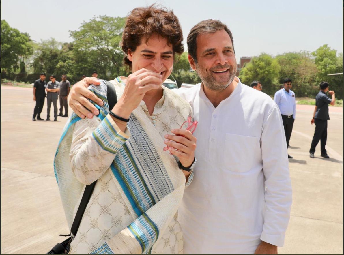 राहुल ने कहा, ''मैं आपको बताता हूं कि एक अच्छे भाई का क्या मतलब होता है? मैं लंबी-लंबी यात्राएं छोटे से हेलिकॉप्टर में कर रहा हूं. जबकि प्रियंका को छोटे सफर के लिए बड़ा हेलिकॉप्टर मिला है.''लेकिन मैं उनसे प्यार करता हूं.