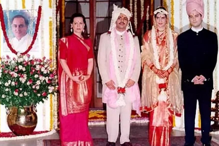 18 फरवरी 1997 में दोनों शादी के बंधन में बंध गए. दोनों की शादी मां सोनिया गांधी के आवास दस जनपथ पर हिंदू रीति-रिवाजों से हुई. प्रियंका और रॉबर्ट के दो बच्चे भी हैं-मिराया वाड्रा और रेहान वाड्रा. पूरा परिवार गुड़गांव में साथ रहता है.