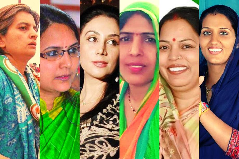 राजस्थान से केंद्र की सियासत का गुणा भाग करते हुए कांग्रेस और बीजेपी ने 25 सीटों में से 6 पर जीत का दांव महिलाओं पर लगाया है. इनमें से चार महिला प्रत्याशी कांग्रेस और दो बीजेपी के टिकट पर चुनावी मैदान में हैं. कांग्रेस ने कुल सीटों में से 16 प्रतिशत पर महिलाओं को टिकट बांटे हैं तो बीजेपी का महिला टिकट प्रतिशत महज 8 प्रतिशत रहा है. साल 2014 में राजस्थान से बीजेपी के टिकट पर एकमात्र महिला उम्मीदवार झुंझुनूं से संतोष अहलावत ने जीत दर्ज की थी, जबकि कांग्रेस ने 6 महिलाओं को मैदान में उतारा था और उनमें से एक के भी जीत हाथ नहीं लगी थी. लेकिन इस बार दोनों ही पार्टियों ने जिताऊं महिला प्रत्याशियों पर दांव लगाया हैं. अगली स्लाइड्स में पढ़ें, दीया कुमारी, ज्योति खंडेलवाल, कृष्णा पूनिया, ज्योति मिर्धा, सविता मीणा और रंजीता कोली कहां-कहां से उतरी चुनावी मैदान में...