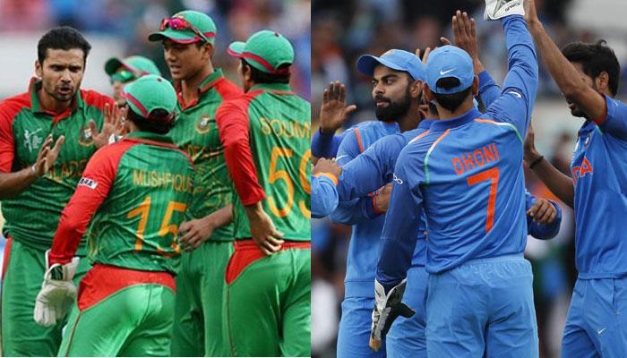 बांग्लादेश से भी टीम इंडिया का रिकॉर्ड बहुत अच्छा नहीं है. वर्ल्ड कप में टीम इंडिया बांग्लादेश से 2 बार जीती है, वहीं 1 बार उसको हार का सामना करना पड़ा है. (PC - ICC)