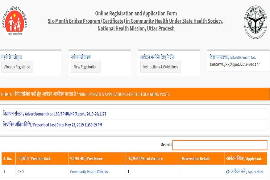 NHM UP: 35 हजार की सैलरी चाहिए तो इन 6000 पदों के लिए करें ऑनलाइन आवेदन