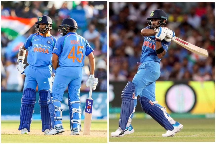 रोहित शर्मा के नाम पर वनडे इंटरनेशनल क्रिकेट में रिकॉर्ड तीन दोहरे शतक दर्ज हैं और 30 मई से इंग्लैंड में होने वाले वर्ल्ड कप में उसने हर कोई एक बार फिर बड़ी-बड़ी पारियों की उम्मीद कर रहा है. हालांकि उनके निशाने पर इस महाकुंभ में सौरव गांगुली का 20 साल पुराना रिकॉर्ड है. वैसे रोहित ही क्यों टीम के कप्तान विराट कोहली और शिखर धवन भी बड़ी पारी खेलकर इस रिकॉर्ड को अपने नाम करना चाहेंगे.(photo-pti)