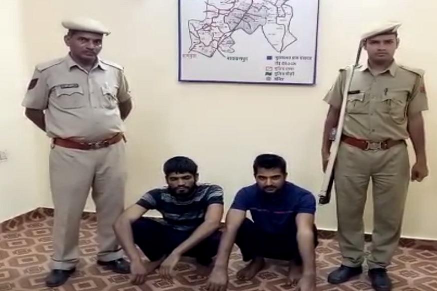 महापुर हत्याकांड: पुलिस ने महाकाल गैंग के दो बदमाशों को किया गिरफ्तार