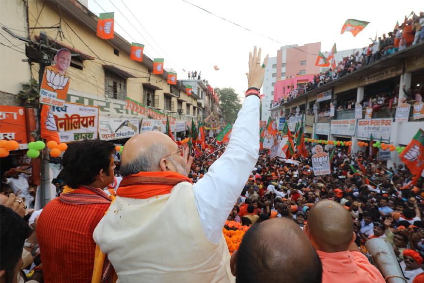 BJP, Amit shah, chanakya, lok sabha election 2019, exit poll result, narendra modi, Amit Shah strategy, अमित शाह, बीजेपी, लोकसभा चुनाव 2019, बीजेपी अध्यक्ष की चुनावी यात्रा, amit shah Travel for poll campaign, amit shah Rallies, exit poll results, एग्जिट पोल रिजल्ट, अमित शाह की रणनीति, Work style of amit shah, अमित शाह की कार्यशैली, नरेंद्र मोदी