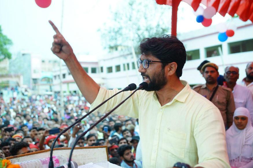 गुजरात के युवा विधायक जिग्नेश मेवाणी का भी कन्हैया के लिए प्रचार किसी काम ना आया.
