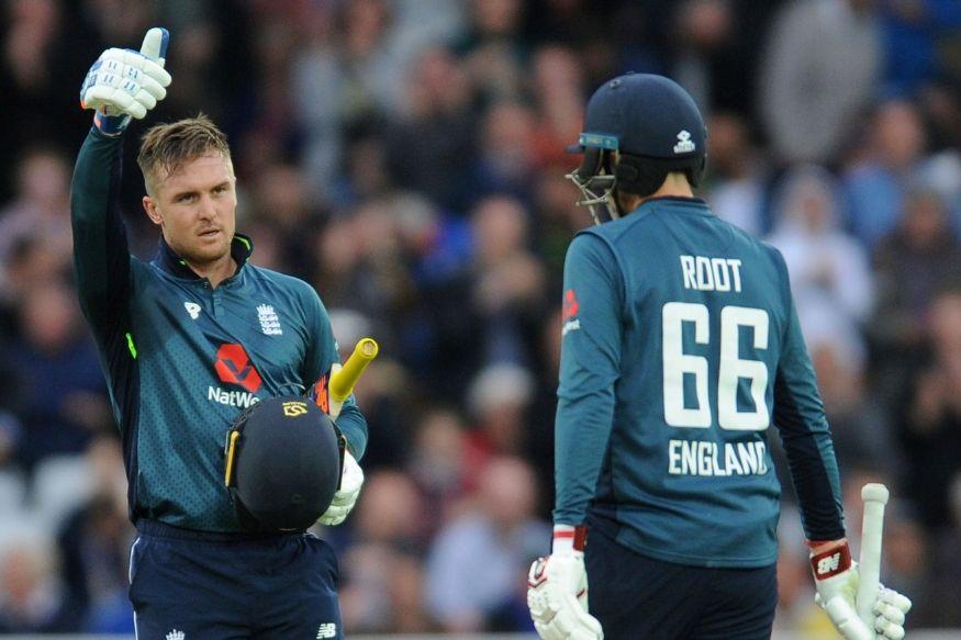 जेसन रॉय की पारी की बदौलत इंग्लैंड ने चौथे वनडे में जीत दर्ज की (pti)